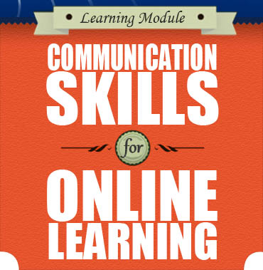 Icon for Communications Skills for Online Learning