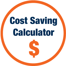 Cost Saving Calculator tool